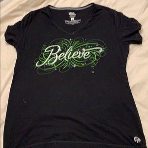 Disney Raw Threads Tinkerbell shirt, large